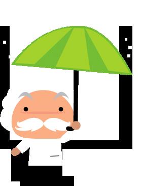 einstein_parapluie
